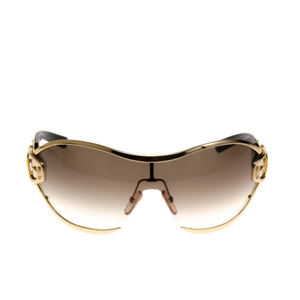 Gucci Brown 2738 Buckle Detail Womens Sunglasses