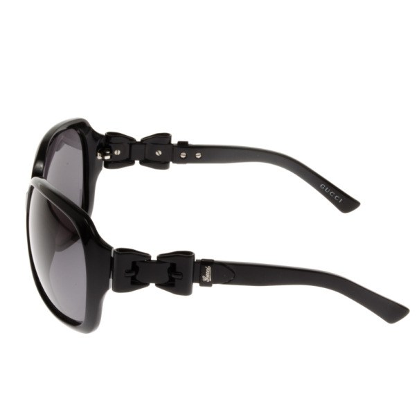 Gucci Black 3006 Bow Hinge Womens Sunglasses
