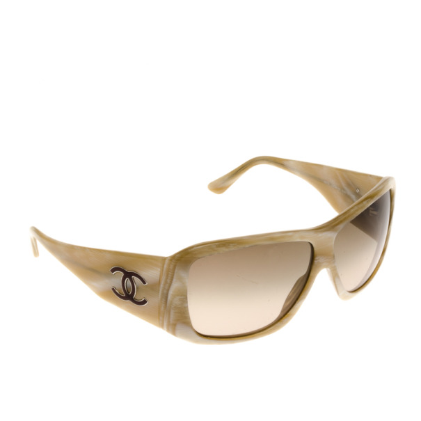 Chanel Cream 5079 Frame CC Logo Womens Sunglasses