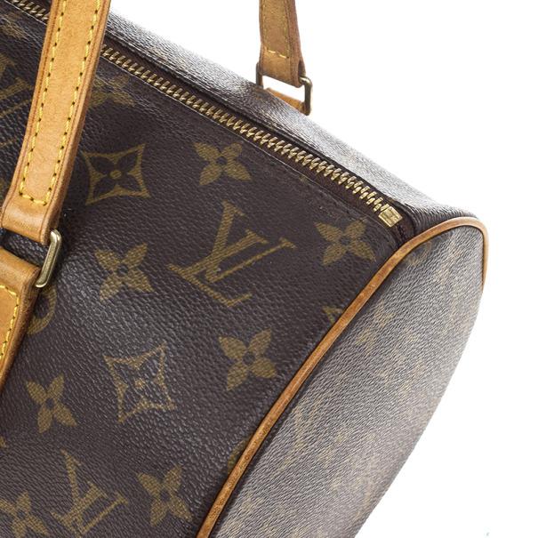 Louis Vuitton Monogram Canvas Papillon 30 Bag With Accessories Pouch