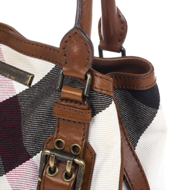 Burberry Mega Check Tote