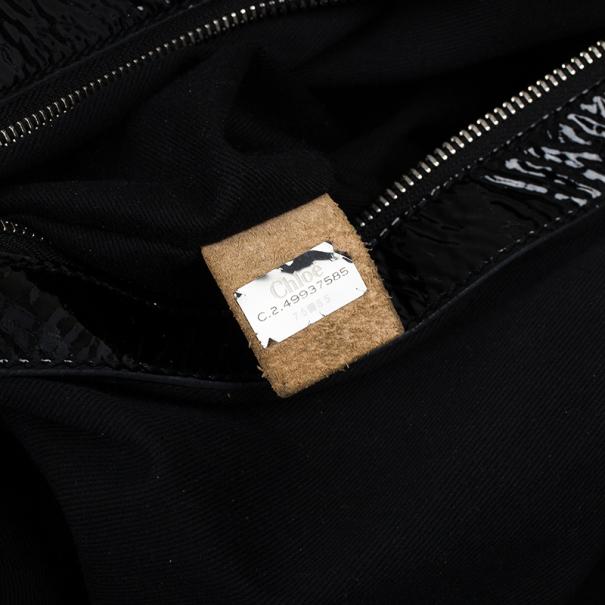 Chloe Patent Leather Ada Tote