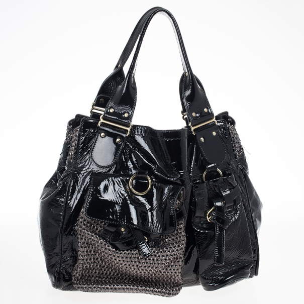 Chloe Patent Leather Ada Tote