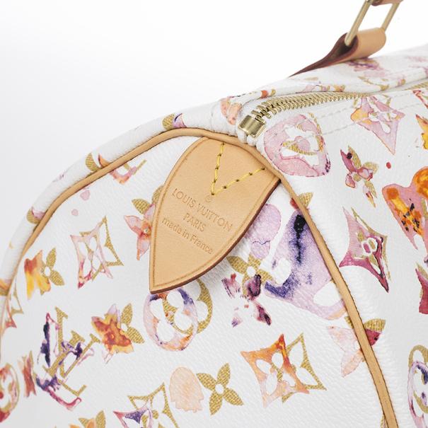 Louis Vuitton Watercolor Speedy 35