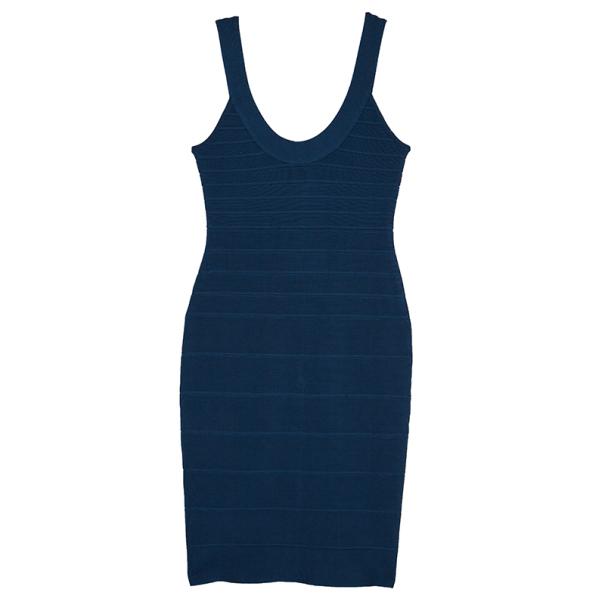 Herve Leger Sydney Signature Scoop Dress M