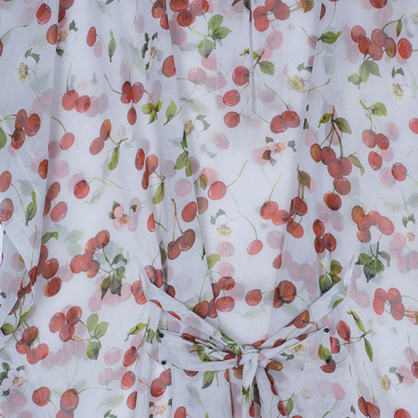 D&G Red Cherry Short Kaftan L