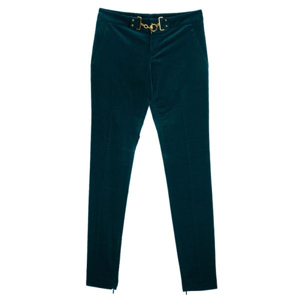 Gucci Velvet Horsebit Pants S