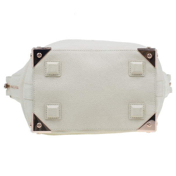 Alexander Wang Cream Leather Large Emile Tote