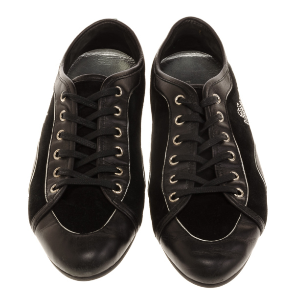 Gucci Black Suede Sneakers Size 40.5