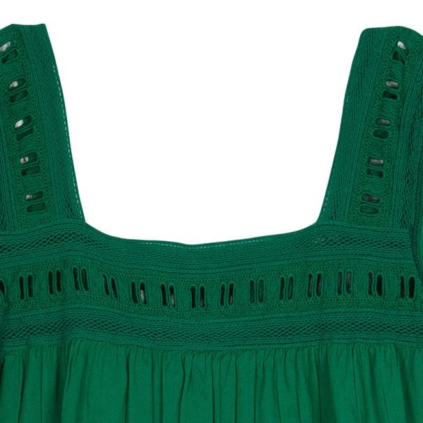 Zadig & Voltaire Crochet Cotton Top M