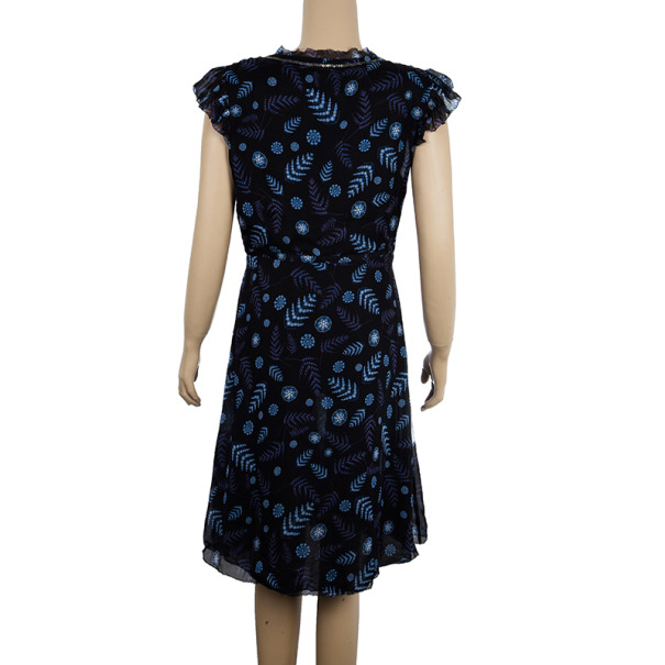 Zadig & Voltaire Luxe Printed Dress L