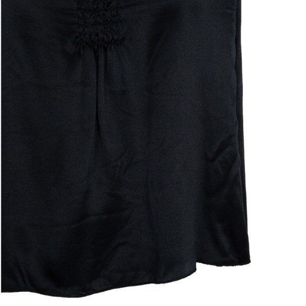 Miu Miu Sleeveless Ruched Top L