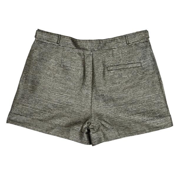 See By Chloe Metallic Shorts S