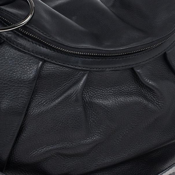 "Gucci Black ""Icon Bit"" Shoulder Bag"