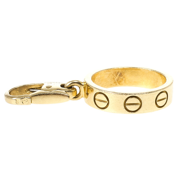 Cartier Love 18 K Yellow Gold Charm