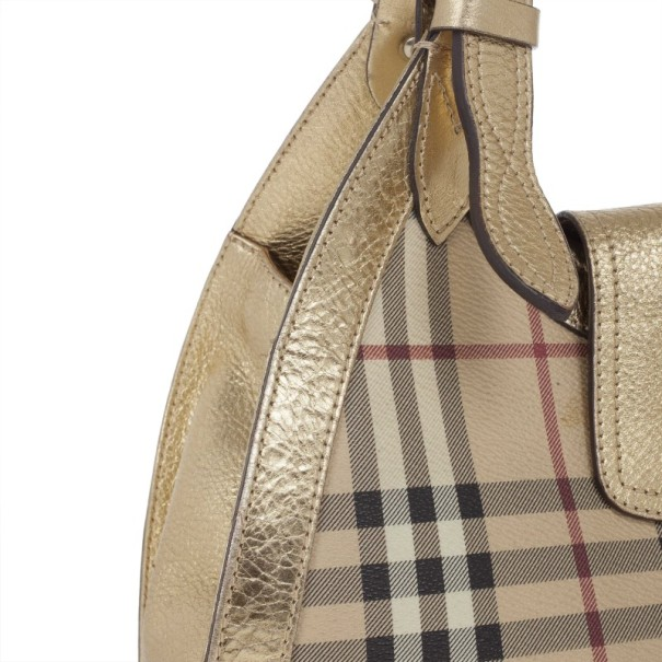 Burberry Haymerket Check Shoulder Bag