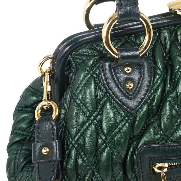 Marc Jacobs Little Stam Quilted Leather Shoulder Bag