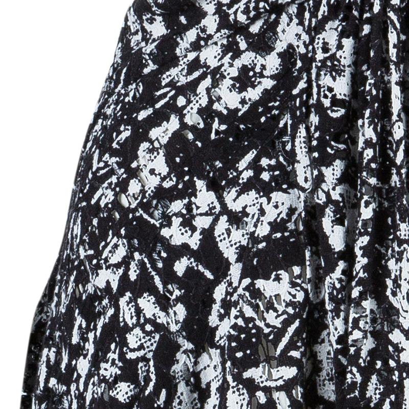 Diane von Furstenberg Monochrome Print Lacie Dress M