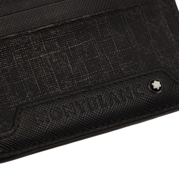 Montblanc Black Meiserstruck Card Holder