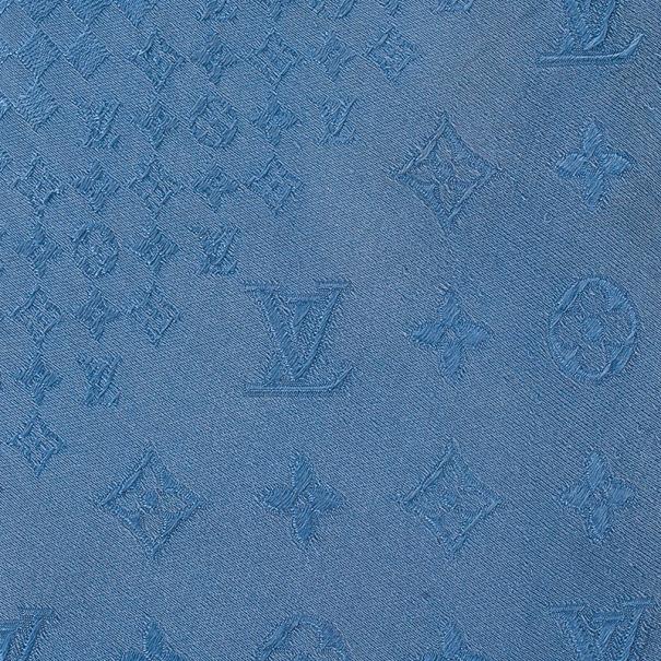 Louis Vuitton Blue Monogram Petit Damier Tie