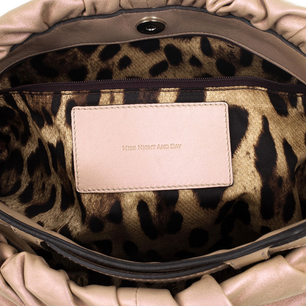 Dolce and Gabbana Miss Night and Day Hobo