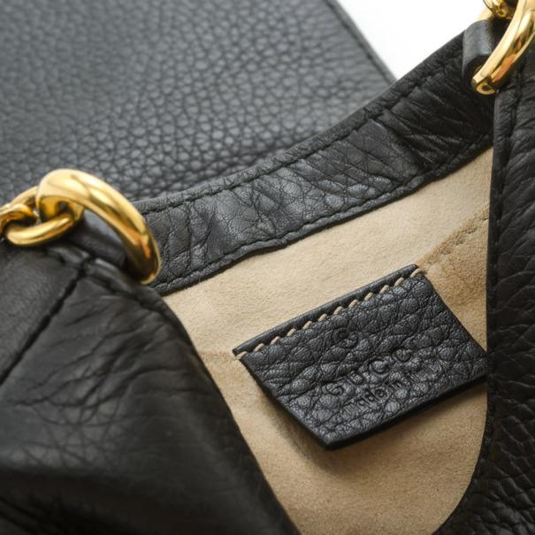 Gucci 1973 Mini Leather Shoulder Bag