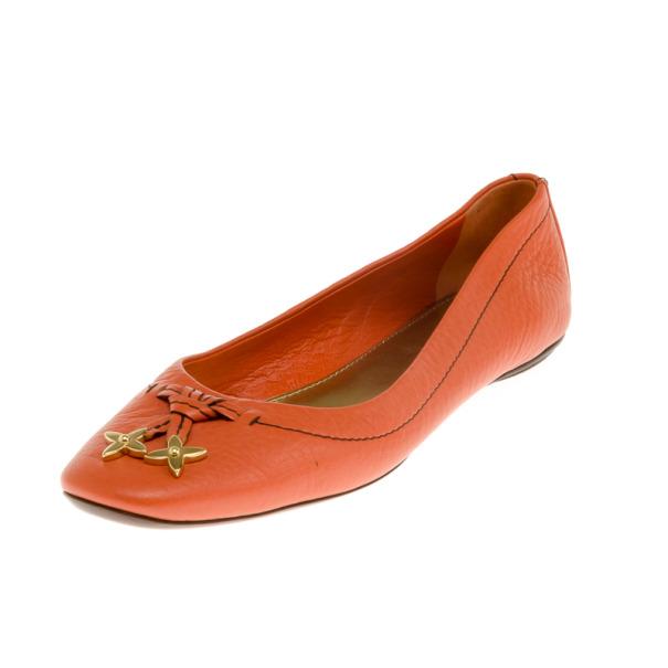 Louis Vuitton Peche Marguerite Ballerina Flat Size 38