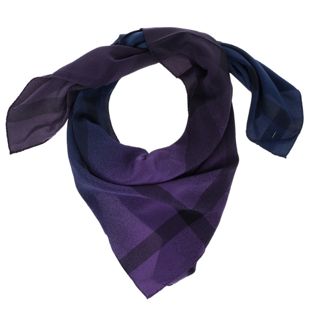 Burberry Shaded Novacheck Scarf