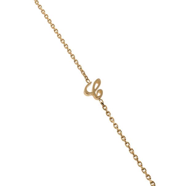 Chopard Happy Animal World Panda 18k Rose Gold Pendant Necklace