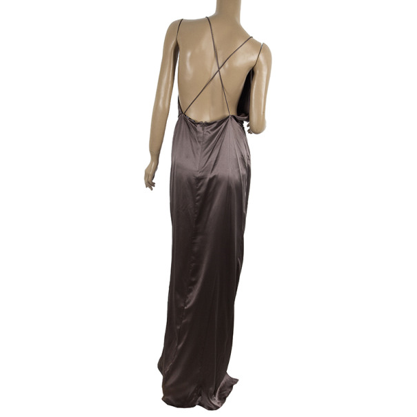Gucci Front Knot Evening Gown M