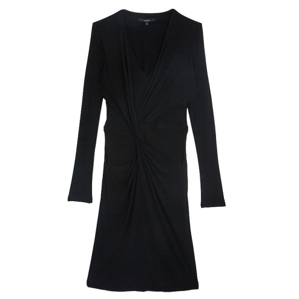 Gucci Long Sleeve Knot Dress L