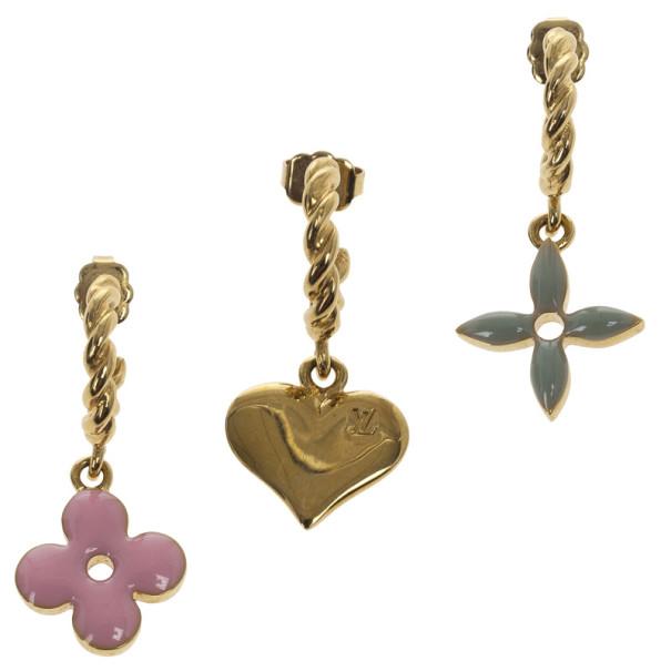 Louis Vuitton Sweet Monogram Set of Earrings