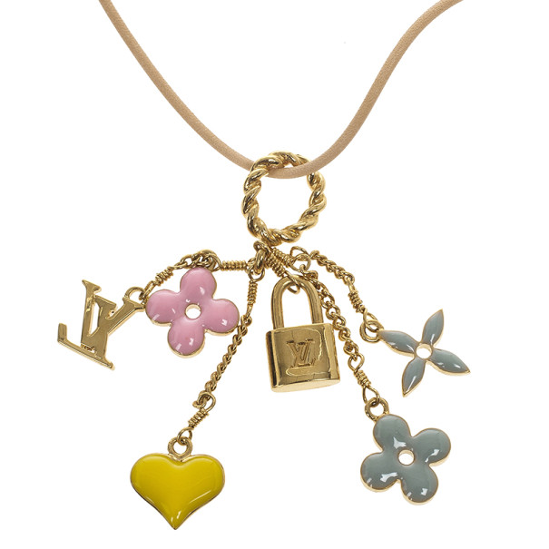 Louis Vuitton Sweet Monogram Pendant Necklace