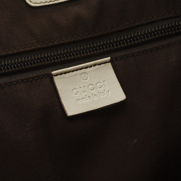 Gucci Monogram Medium Perforated Shopper