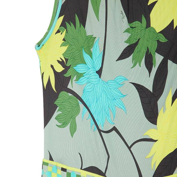 Emilio Pucci Miri Printed Stretch Dress S