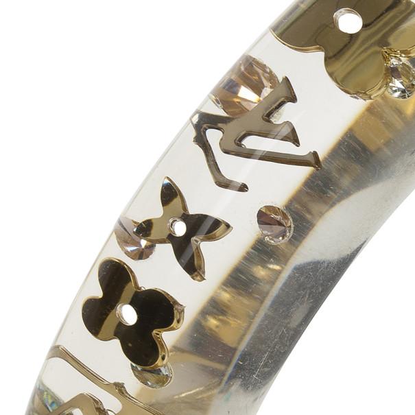 Louis Vuitton Inclusion Transparent Small Bracelet 19 CM
