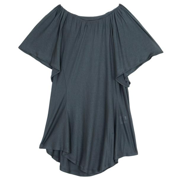 Fendi Butterfly Sleeve Jersey Top S