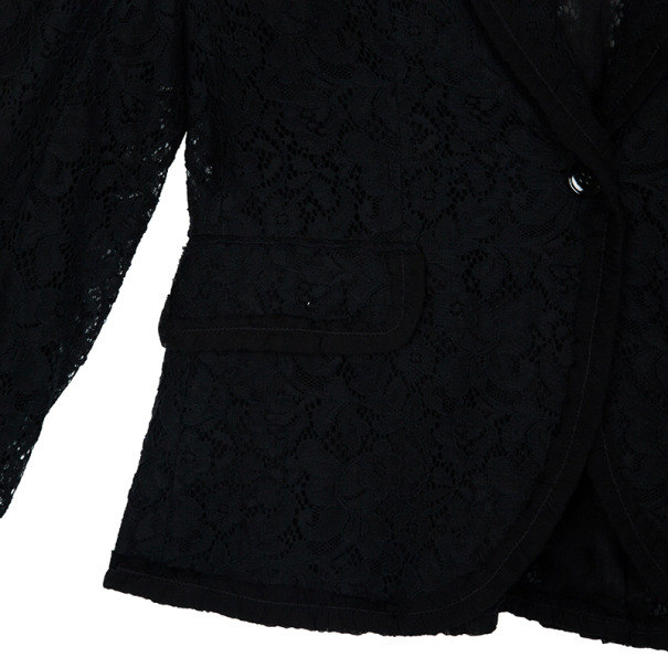D and G Single Breasted Lace Jacket S
