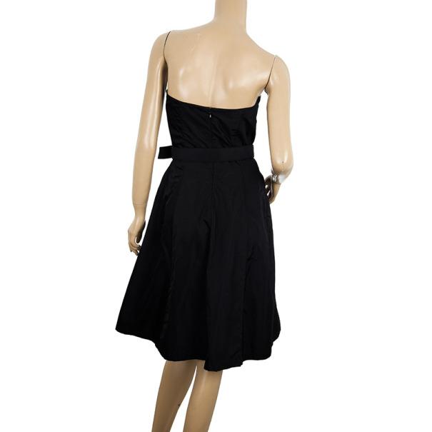 Prada Strapless Corset Dress M