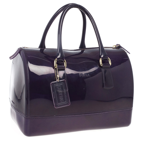 Furla Candy Rubber Satchel