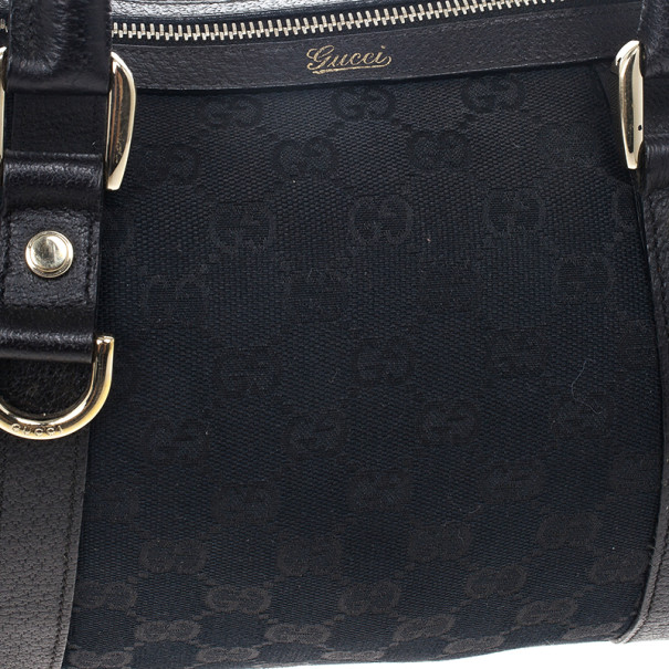 Gucci Monogram Small Abbey Boston
