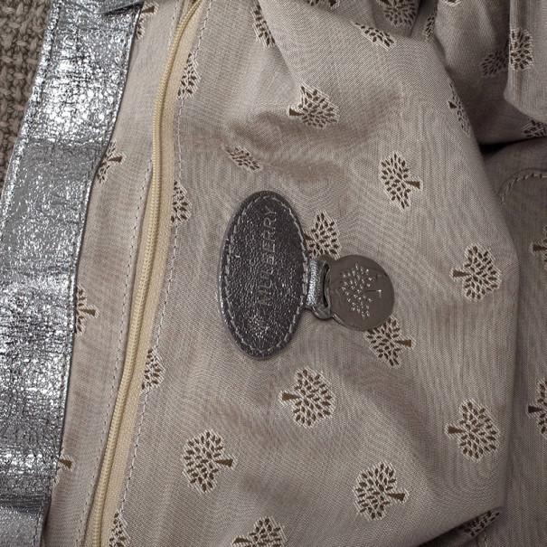 Mulberry Alexa Sparkle Tweed Leather Bag