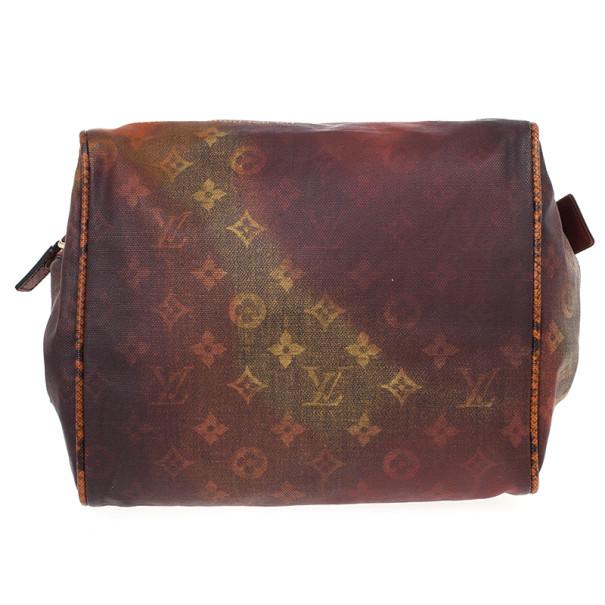 Louis Vuitton Limited Edition Richard Prince Red Monogram Mancrazy Jokes Bag
