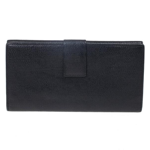 Saint Laurent Large Y Line Flap Wallet