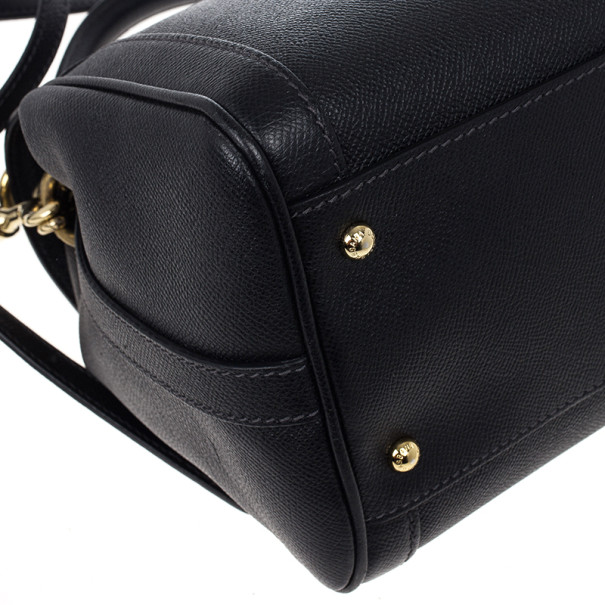 Dolce and Gabbana Leather Bowler Bag