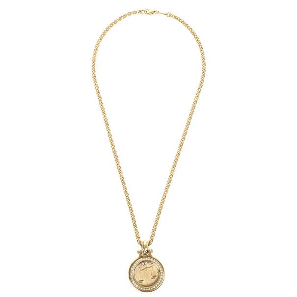 Chopard Happy Zodiac Libra Diamond Pendant Necklace