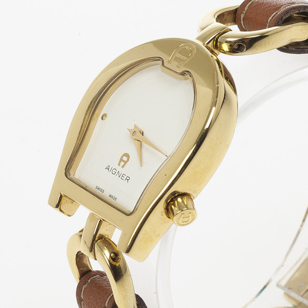 Aigner Perugia Stainless Steel Womens Watch 22 MM