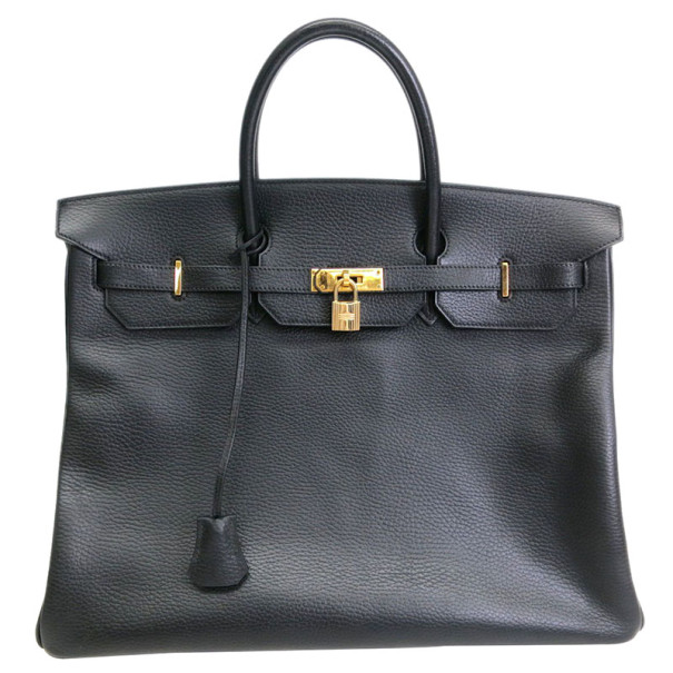 Hermes Birkin 40 Ardennes with Gold Hardware