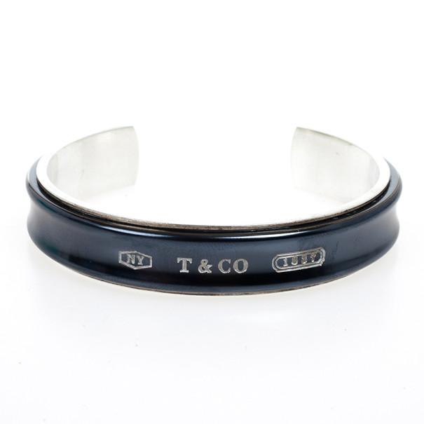 Tiffany Co 1837 Midnight Anium Silver Cuff Bracelet 16 Cm 19993 At Best Price Tlc