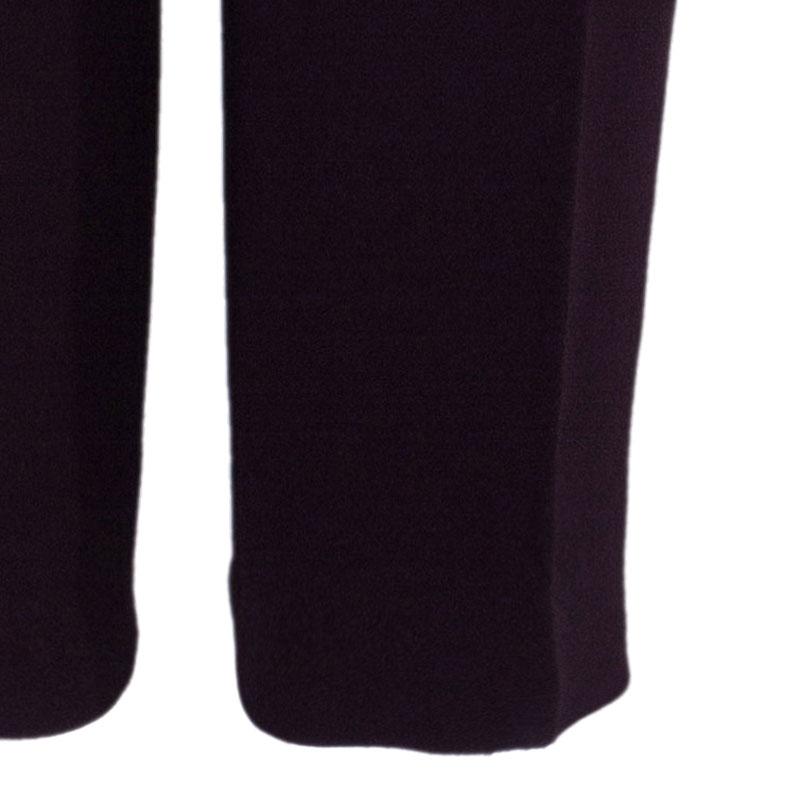Dior Burgundy Formal Trousers M